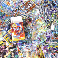 Pokemon TCG 100Pcs Cards COM/UNC HOLO RARE GUARANTEED GX Card Full Art Toy