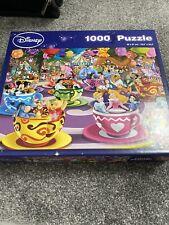 1000 piece jigsaw puzzles used disney