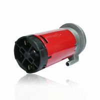 Air Horn Red Universal 12V For Car Vehicle Truck Boat Electric Air Compressor