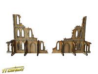 TTCombat - Sci Fi Scenics - Gothic Corner Ruins A - Great for 40k