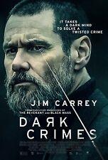 Dark Crimes Movie Poster (24x36) - Jim Carrey, Charlotte Gainsbourg, Csokas