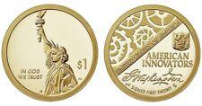 2018 D American Innovation Innovators Golden One Dollars U.S. Mint Coins Money