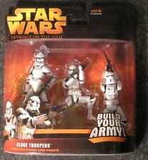 Star Wars Revenge of the Sith Clone Trooper Army 3-Pack