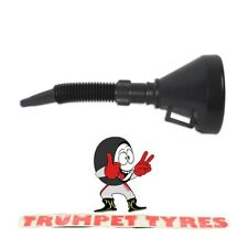 Funnel With Flexible Tapered Spout & Filter Lightweight Design Handy 1011