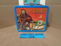 Funko Star Wars The Mandalorian The Child Tin Lunchbox!!! FUNKO POP!!!!!!!!!!!!!