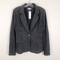NWT 41 Hawthorn Stitch Fix Cordoba Elbow Patch Blazer Jacket Gray Size Medium