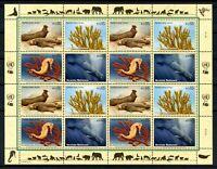 UNO Wien ZD-Bogen MiNr. 526-29 postfrisch MNH gefährdete Tierarten (H416