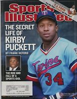 Kirby Puckett Minnesota Twins Sports Illustrated March 17, 2003