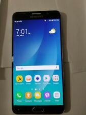 Samsung Galaxy Note 5 sprint unlocked. Condition is used. 32 Gb.black color.