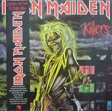 Iron Maiden - Killers on Picture Disc Vinyl LP EMI 2012 NEW & SEALED