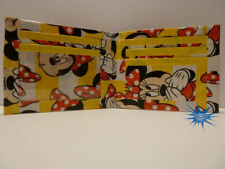 Duct Tape Wallet With Minnie Mouse all over it Handmade Design 2