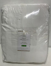 Pottery Barn Tencel Ruffle Duvet cover King/California King NEW 108x92 inches
