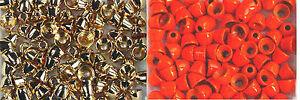 10x CONE casque LAITON /BEAD  d:5mm montage mouche streamer bille fliegen mosca