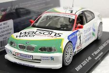 FLY A624 BMW 320i E-46 MACAU 2003 NEW 1/32 SLOT CAR IN DISPLAY 22,000 RPM MOTOR