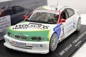 FLY A624 BMW 320i E-46 MACAU 2003 NEW 1/32 SLOT CAR IN DISPLAY 22,000 RPM MOTOR