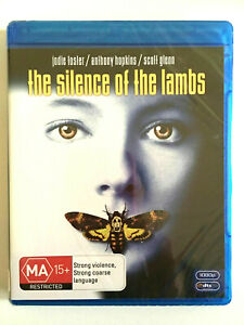 NEW Silence Of The Lambs Bluray Thriller Jonathan Demme Foster Anthony Hopkins