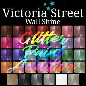 Victoria Street Wall Shine™ 100g Glitter Additive Paint Crystals Fine Premium