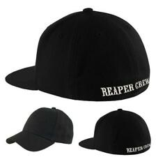 NEW SOA Sons of Anarchy Reaper Crew Fitted Baseball Cap Hat Adult Large/X-Large