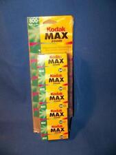5 ROLLS Kodak Max Zoom Versatility Plus 800 Film, 120 exp total,  Expired 12/02.