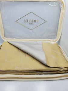 FRETTE 1860 FRONA ARREDO STANDARD PILLOWSHAM GOLD/BEIGE NIP