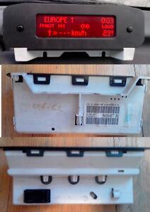 Afficheur 3 lignes multifonction EMF B Sagem Peugeot 206 206 CC 9641014877 B02