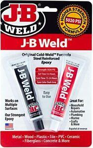 J-b Weld 8265S Original Cold-weld Steel Reinforced Epoxy 2 Oz. NEW