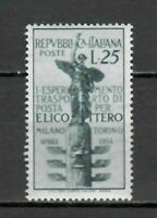 S21616) Italy 1954 MNH New Helicopter 1v