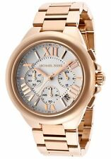 Michael Kors MK 5757 Camille Rose Gold and White Dial Chronograph New