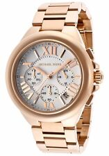 Michael Kors MK 5757 Camille Rose Gold and White Dial Chronograph New with Box