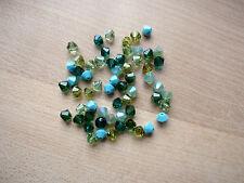 60 Swarovski® Kristall Perlen Xilion Beads/Bicone 4mm SOMMERMIX 18