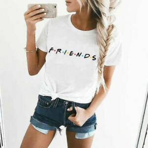 Friends t-shirt. fashion top comedy tv series rachel ross monica joey pheobie