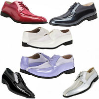 Stacy Adams ROYALTY Men's Patent Wedding Tuxedo Bike Toe Dress Shoe