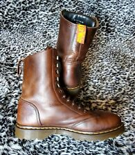 DR. MARTENS Vintage 8066 Made In England boots / shoes ! US 11 Punk Brown 1460