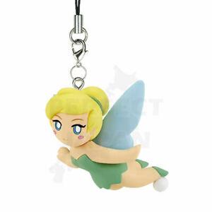*UK Dispatch* TAKARA TOMY Disney Classic Flying Charm Keyring - 5. Tinkerbell