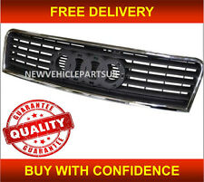 AUDI A6 2002-2005 FRONT GRILLE CENTRE MAIN TOP RADIATOR WITH CHROME TRIM NEW