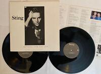 Sting - Nothing Like The Sun - 1987 US 1st Press (NM) LYRICS Ultrasonic Clean