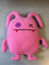 RARE authentic UglyDoll Double Trouble Ox 4035799 Ugly Doll Soft Toy Pink Purple