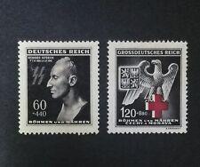 2PCS GERMAN EMPIRE WW II (mint)