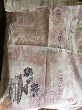 Double Duvet Cover Lilac Paris Pillow Cases