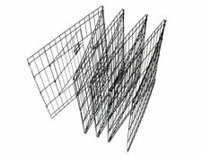 OxGord 8-Panel Folding Wire Fence Exercise Pen with Door for Pets