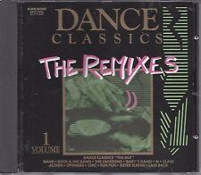 Various  – Dance Classics - The Remixes Volume 1   Cd