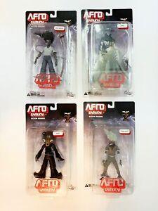 Afro Samurai DC Unlimited figure complete set