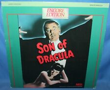 Son Of Dracula 1943 Laserdisc MCA Home Video Laser Disc