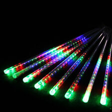 50cm  LED Running Lights Meteor Shower Rain 8x Tubes Xmas Tree Outdoor Lights