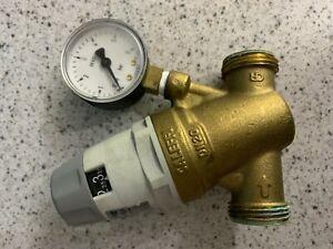 """Caleffi Druckminderer DN20 3/4"""" Druckreduzierer Druckregler Wasser Manometer"""