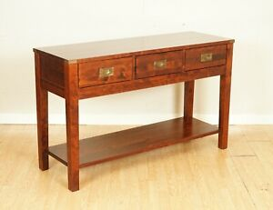 STUNNING LAURA ASHLEY CHALDON MILITARY CAMPAIGN SIDEBOARD/CONSOLE TABLE