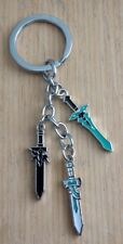 Sword Art Online anime sword charm keychain