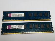 Kingston 4 Go (2 x 2Go) non ECC DDR3 PC3-10600U ACR256X64D3U1333C9