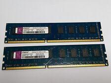 Kingston 4 Go (2 x 2Go) non ECC DDR3 PC3-10600U ACR256X64D3U1333C9