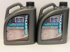 9,75€/l Bel-Ray Thumper Racing 4T 15W-50 2 x 4 Ltr teilsyn Motoröl für Off Road